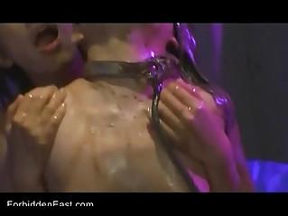Uncensored Japanese Erotic Fetish Sex Les Rave Pt