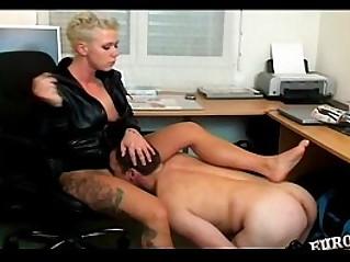 Femdom humiliation by mean mistress