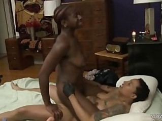 Ebony lesbians have real squirting orgasms Lillian Alexander and Papi Coxxx Girlfriends Films