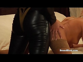 The Education of Erica Lesbian Slaves On Their Knees Taking Strapon
