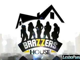 Lez Girls ariana jenna samantha Punishing each other With Used Of Sex Toys clip