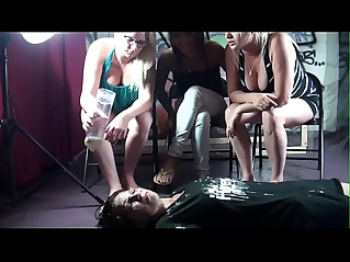Very ruthless spit humiliation for poor whore girl no mercy