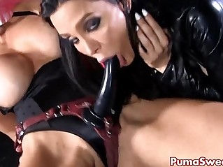 Euro babe puma swede disciplines amy with strap